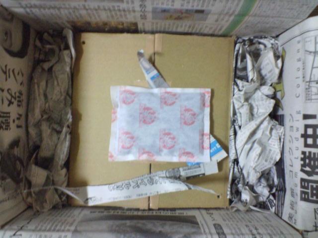 ヘルマンリクガメの梱包2