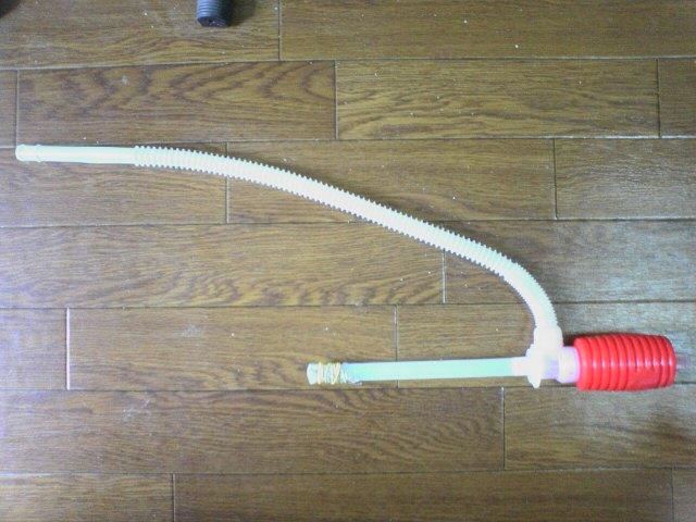 ツノガエルの水換え道具